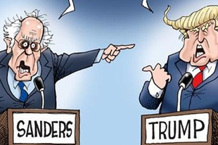 Amerikai freak show − Trump vs Sanders?