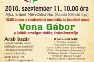 Szeptember 11., az Arab-Magyar Barátság Napja