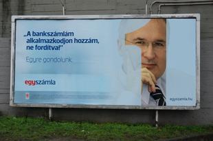 Egy számla: Simon Gábor, a kampányarc
