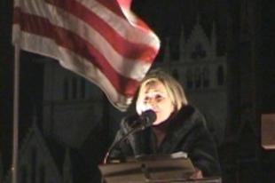 Morvai Krisztina, az önjelölt képviselőjelölt