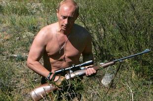 Putyin az Október huszonharmadika utcában