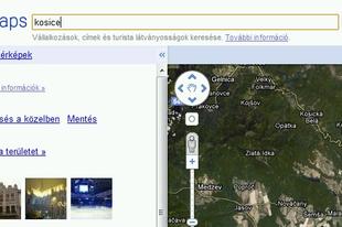 GoogleMaps-revízió: Kassa és Kolozsvár visszatér