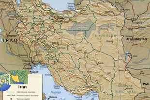 Irán 75-ik névnapjára