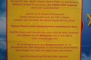 5 euró – durvul a kampány a német liberálisoknál