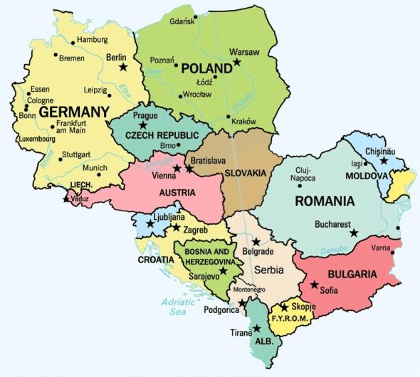 magyarország németország térkép Akinek térkép e táj   Mandiner blog magyarország németország térkép