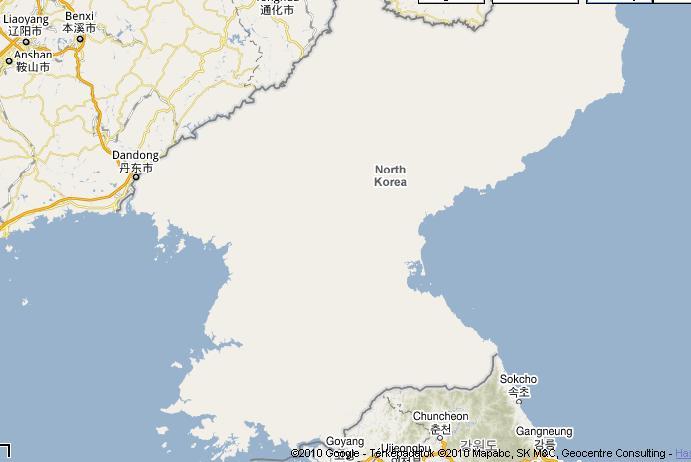 Del Korea Terkep