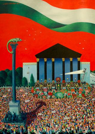 150 év az alkotmányos festészetben – Ilyen ország pedig