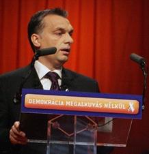 Orbán a Fidesz kongresszusán