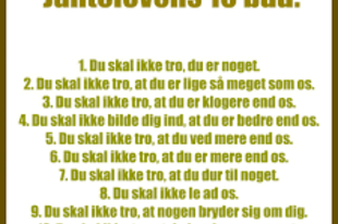 A skandináv standard avagy mi is az a Janteloven?