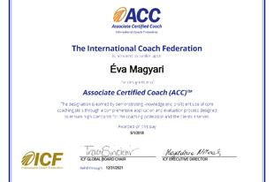 Sikerült a coach akkreditációm