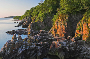 Bornholm, a dánok mediterrán szigete