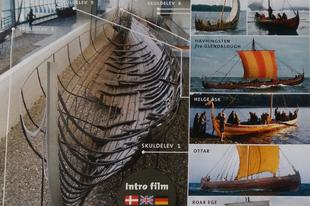 Vikinghajók és katedrális Roskildében
