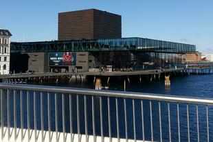 Szombati séta a napsütéses Koppenhágában