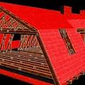 Manzárd tető - infra fűtés