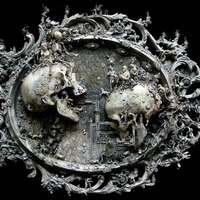 Kris Kuksi csontig hatoló művészete