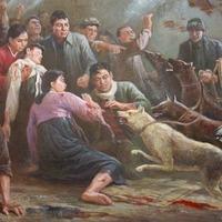 Te sátánian gonosz Amerika - Propaganda festmények Észak-Koreából