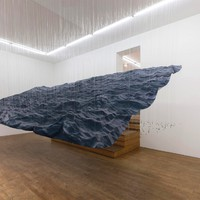 Tenger a galériában