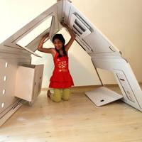Modern instant bunker gyerekeknek
