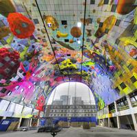 Vásárcsarnokban díszeleg Hollandia legnagyobb freskója
