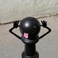 A város pozitív üzenetei - Street Art by Sandrine Estrade Boulet