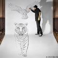 Művész a rajzban, avagy Ben Heine új sorozata