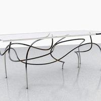 Tér-idő kontinuum asztal