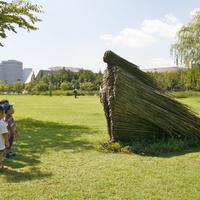 Sünlány bambuszból