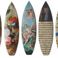 Híres festmények deszkásoknak és szörfösöknek