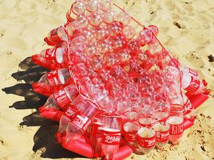 Coca-Cola szék – Újrahasznosítva