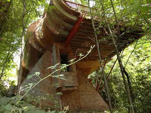 Luxus a lombok között - A Tree House
