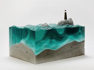 Egy autodidakta művész üveghullámai
