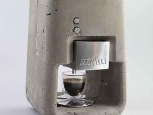 Konkrétan beton kávéfőző, Izraelből