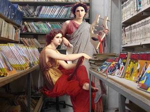 A klasszikus festmények szereplői mindig velünk lesznek