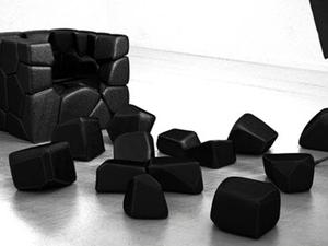 Mint a drazsé - Vuzzle Chair