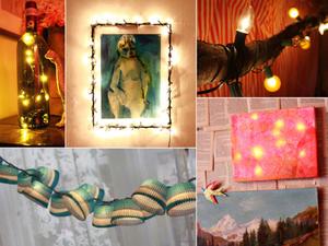 DIY: A karácsonyi fények új élete