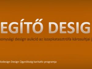 SEGÍTŐ DESIGN: jótékonysági design aukció az iszapkatasztrófa károsultjai javára