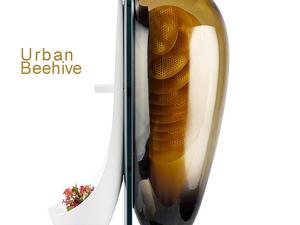 Saját méhkaptárt minden ablakra - Urban Beehive by Philips Design