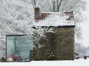 Belga melléképület, szimpatikus kiterjesztéssel - Maison Roly