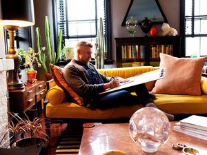 Szervezetlen kreativitás amerre nézünk - Philip Crangi New York-i lakása