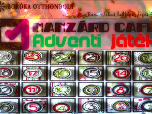 Boróka Otthonbolt - Manzárd Café adventi játék