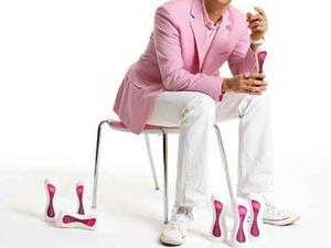 Karim Rashid önmelegítős cumisüvege