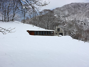 Egy jófajta pajta a Pireneusokból - Barn in Pyrenees