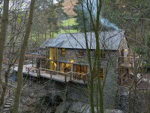 Egy 19. századi vízimalom második élete Észak-Wales-ben