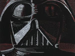 Star Wars karakterek több tízezer tűzőkapocsból