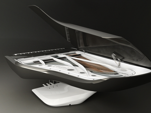 Hatmázsás űrpianó a Peugeot-tól - Peugeot Piano by Peugeot Design Lab