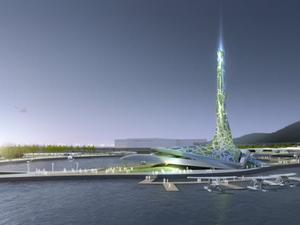 Big O, az új pavilonterv