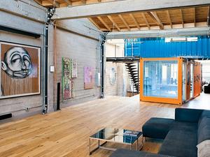 Konténerezz be! Rendhagyó vendégszoba egy friscói loftban - Contained