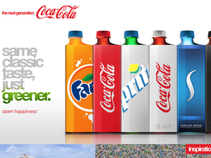 Zöld Cola-Cola