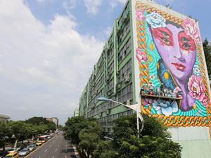 Itt a világ legnagyobb mozgó falfestménye