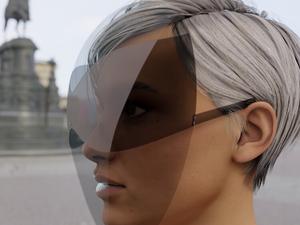 A napszemüvegpajzsoké a jövő?